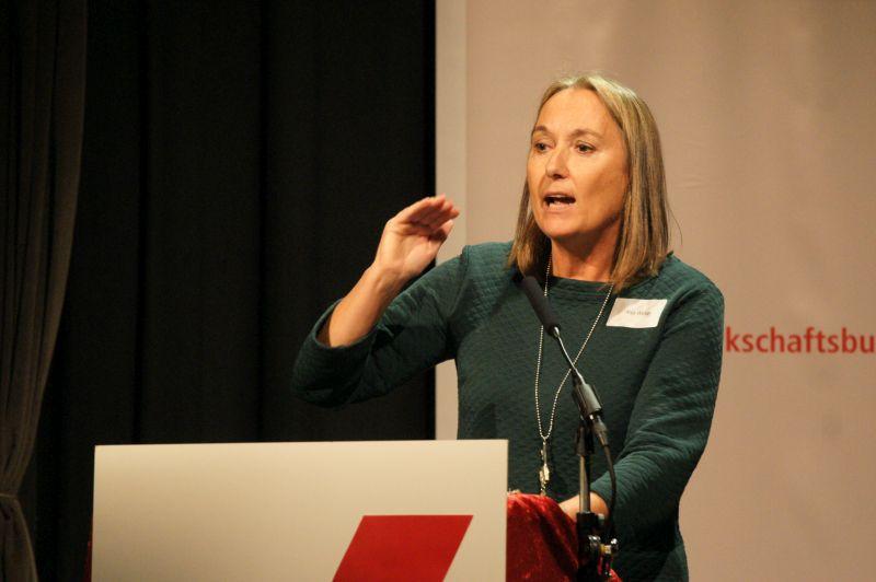 Anja Weber, DGB NRW
