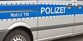Nahaufnahme Polizeiauto
