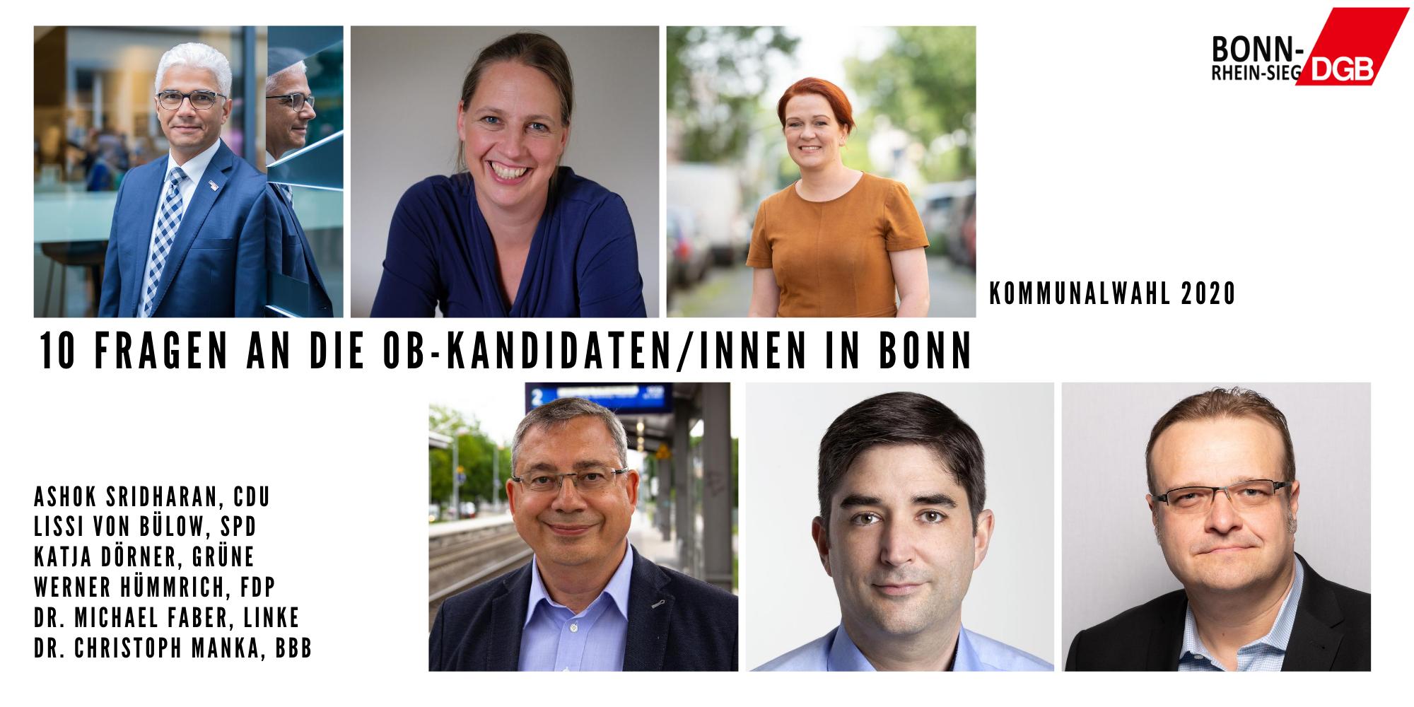 Ob Kandidaten Köln