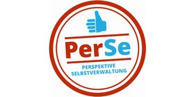 """Logo mit Schriftzug """"PerSe"""""""