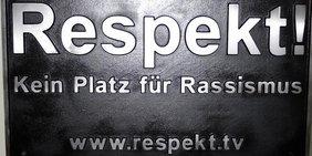 Teaser Respekt Kein Platz für Rassismus
