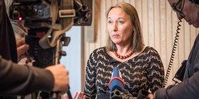 Anja Weber, Vorsitzende DGB NRW, im Interview am 30. Januar 2018