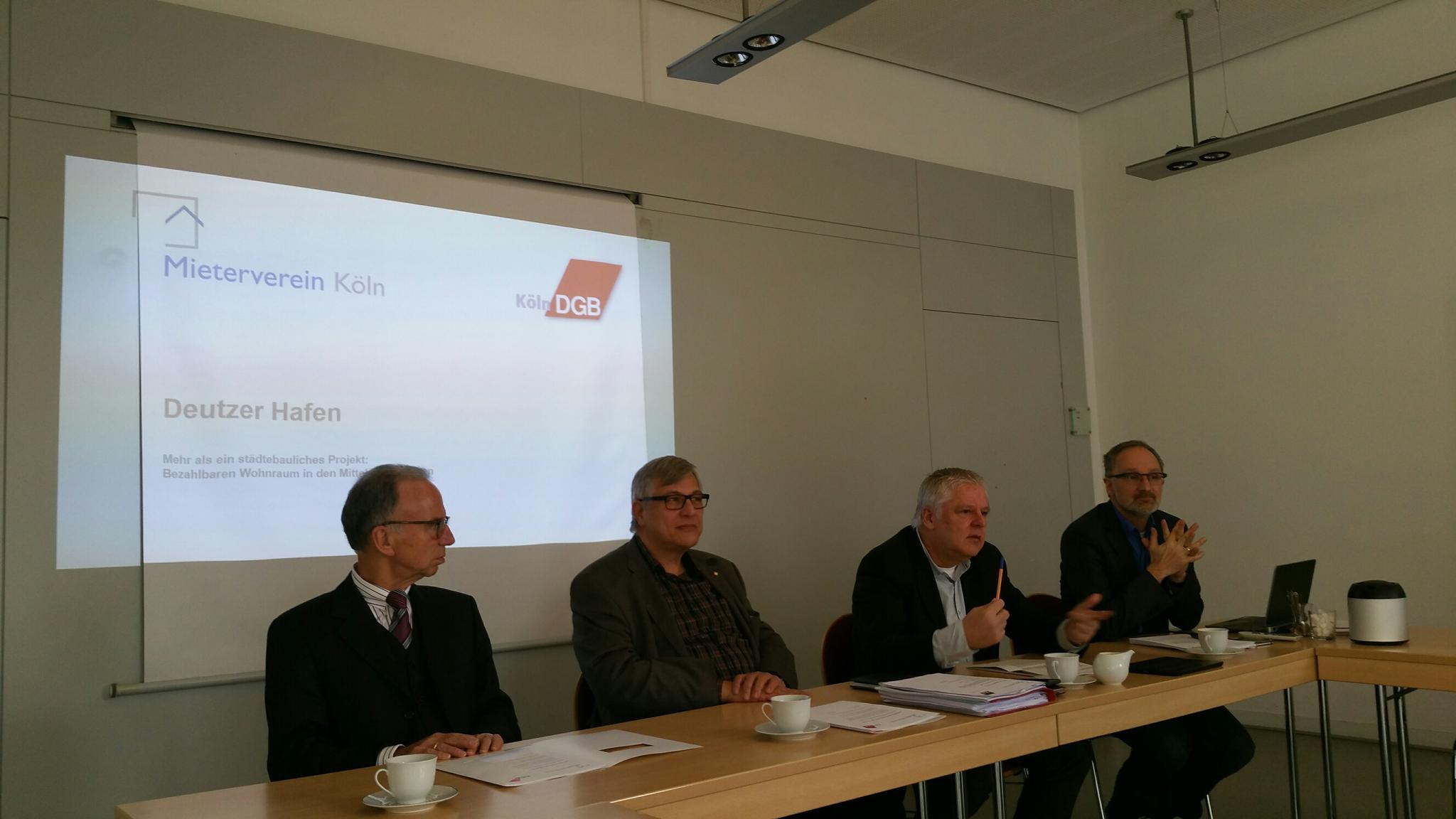 Pressekonferenz DGB / Mieterverein
