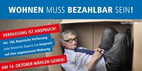 """Kampagne """"Verfassung ist Anspruch!"""" des DGB Bayern"""