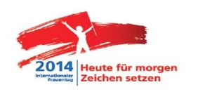 Logo Internationaler Frauentag 2014