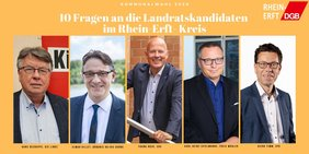 Landratskandidaten Rhein-Erft-Kreis