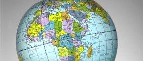 Politischer Globus