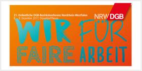 DGB-Bezirkskonferenz NRW 2017