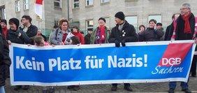 Demo 18.02.2012 Dresden