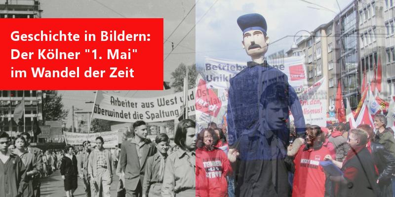 1. Mai in Köln