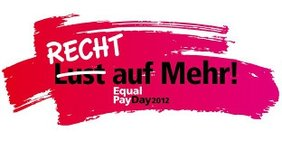 Logo Equal Pay Day 2012