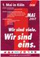 Mai-Plakat Köln
