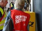 Rentenkampagne - Verteilaktion